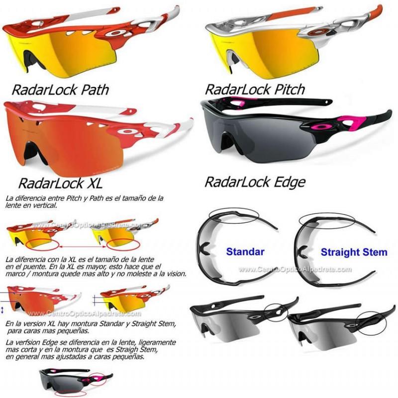e922538fd Sunglasses Oakley RadarLock Path Lente Ruby Iridium Polarized (101 ...
