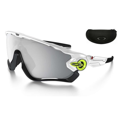 Jawbreaker Custom Polished White-Retina / Chrome Iridium (OO9290-05RTC)