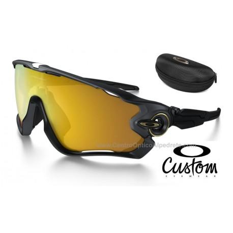 4397039f52 Oakley Sunglasses Jawbreaker Custom Matte Black / 24K Iridium (OO9290-6075)