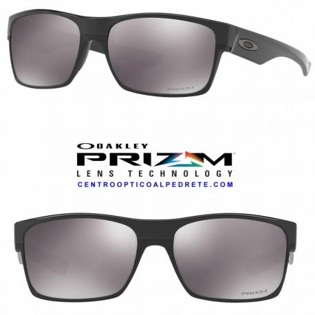 TwoFace Polished Black / Prizm Black (OO9189-37)