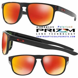 61f1c18111 Sunglasses Oakley Holbrook R Polished Black   Prizm Ruby Polarized ...