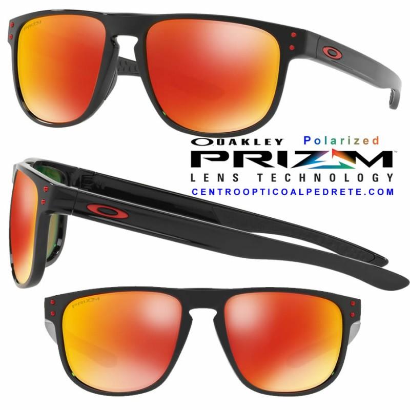 4574cda304 Sunglasses Oakley Holbrook R Polished Black   Prizm Ruby Polarized ...