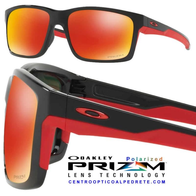 ada5d30221 Gafa de sol Oakley Mainlink Prizm Ruby Polarized | Gafas Oakley