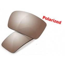 Square Wire Titanium Lente Titanium Iridium Polarized (OO6016-01L)