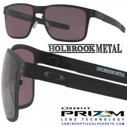 Holbrook Metal Matte Black / Prizm Grey (OO4123-11)