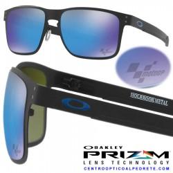 Holbrook Metal MotoGp Matte Black / Prizm Sapphire (OO4123-10)