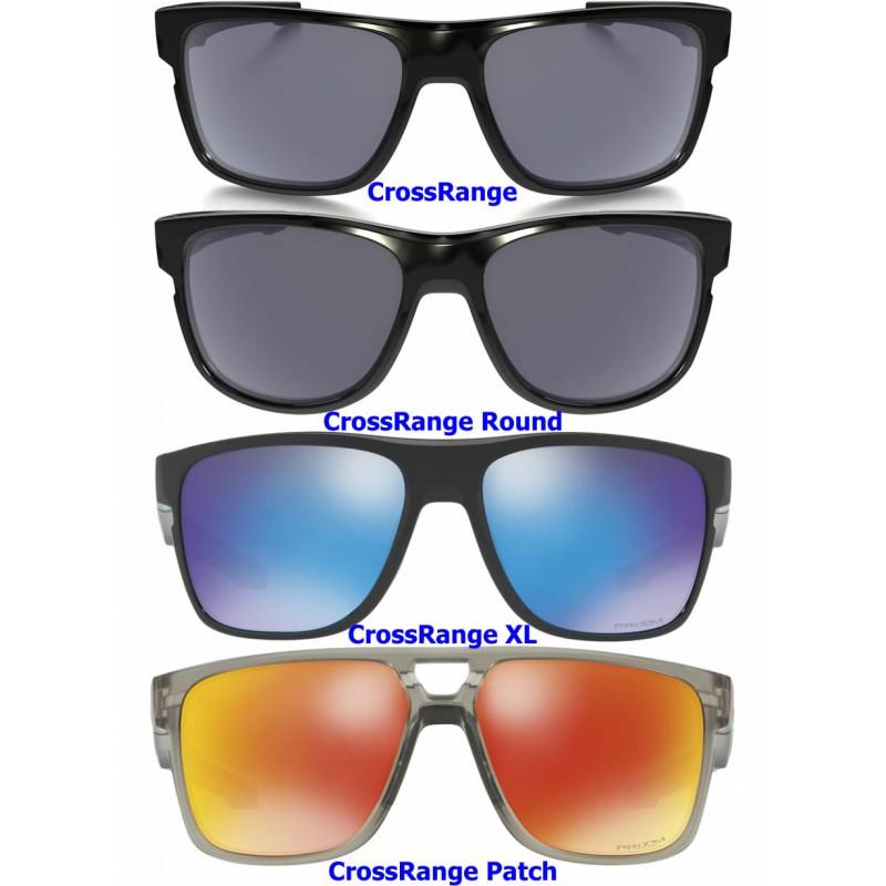 Oakley sunglasses CrossRange Grey Smoke   Prizm Sapphire Snow ... 51f9c27399