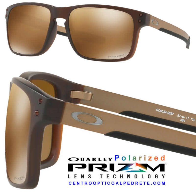 4147dc10b09 Holbrook Mix Matte RootBeer   Prizm Tungsten Polarized (OO9384-08) ...