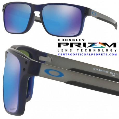 1c3f289f93 Sunglasses Oakley Holbrook Mix Matte Translucen Blue   Prizm ...
