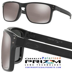 Holbrook Mix Polished Black / Prizm Black Polarized (OO9384-06)
