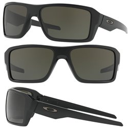 Double Edge Matte Black / Dark Grey (OO9380-01)