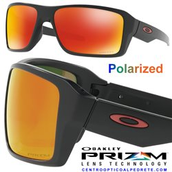 Double Edge Matte Black / Prizm Ruby Polarized (OO9380-05)