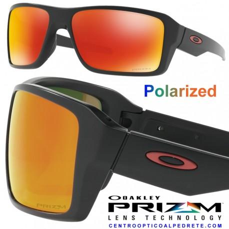 113e2e87d0a09 Oakley sunglasses Double Edge Matte Black   Prizm Ruby Polarized ...