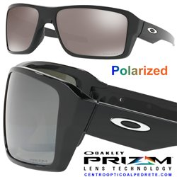 Double Edge Polished Black / Prizm Black Polarized (OO9380-08)
