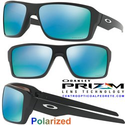 Double Edge Matte Black / Prizm Deep Water Polarized (OO9380-13)