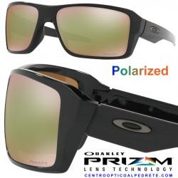 Double Edge Polished Black / Prizm Shallow Water Polarized (OO9380-14)
