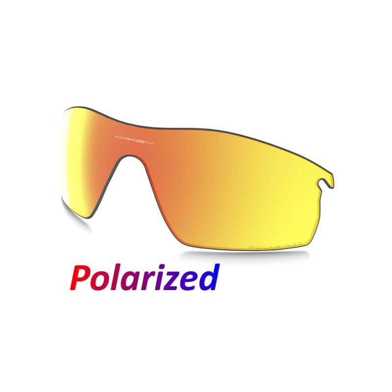 6d8815f7640 Sunglasses Oakley Radarlock Pitch lens Fire Iridium Polarized (43-552)