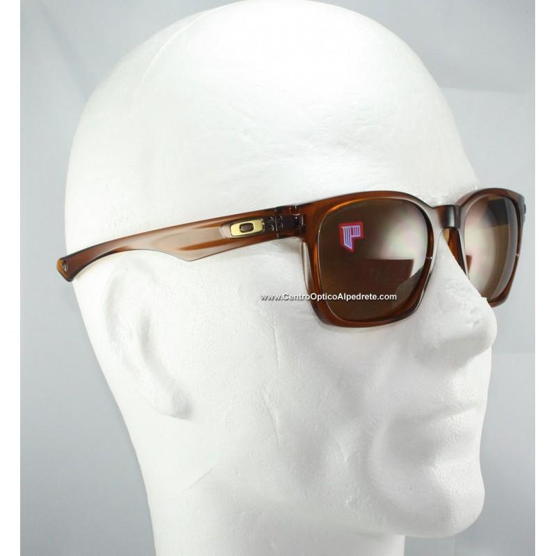 deafa7fc86d Oakley Sunglasses Garage Rock Polished Dark Amber   Bronze Polarized ...