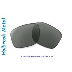 Holbrook Metal Lente Dark Grey (OO4123-08L)