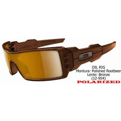 Oil Rig Polished RootBeer / Bronze Polarized (OO9070/12-954)